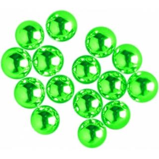 Сахарные шарики серебряно-зеленые
