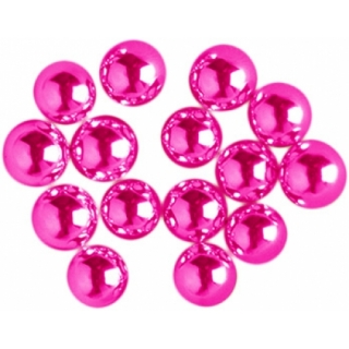 Сахарные шарики серебряно-розовые