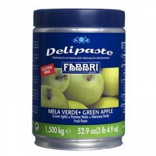 Делипаста Зеленое яблуко, 1,5 кг