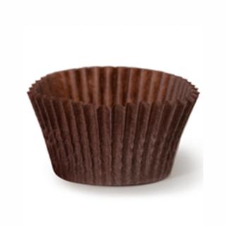 Капсулы для маффинов коричневые 45x26