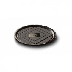 Поднос MEDORO Черный d 28 см