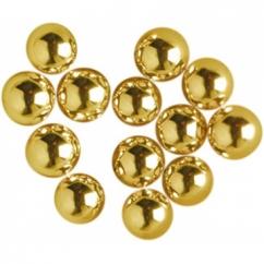 Сахарные шарики золотые