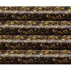 """Трансферы для шоколада """"Золотые узоры"""", 4 вида в упаковке"""