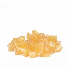 Засахаренные лимонные кубики