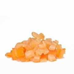 Засахаренные апельсиновые кубики