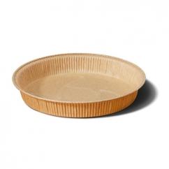 Форма круглая 90х20, золотая
