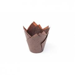 Форма тюльпан коричневая 150*150 D 50